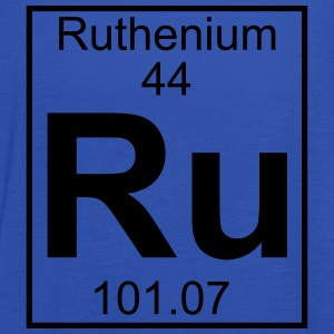 Periodic table element 44 - Ru (ruthenium) - BIG T-shirts - Dame tanktop fra Bella