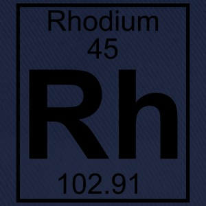 Periodic table element 45 - Rh (rhodium) - BIG T-skjorter - Baseballcap