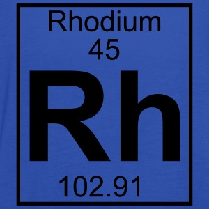 Periodic table element 45 - Rh (rhodium) - BIG T-skjorter - Singlet for kvinner fra Bella