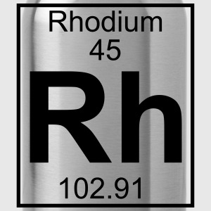 Periodic table element 45 - Rh (rhodium) - BIG Koszulki - Bidon