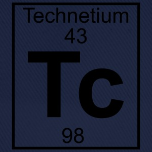 Periodic table element 43 - Tc (technetium) - BIG T-shirts - Baseballcap