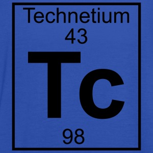 Periodic table element 43 - Tc (technetium) - BIG T-shirts - Dame tanktop fra Bella