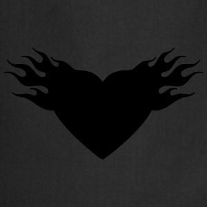 burning heart T-Shirts - Kochschürze