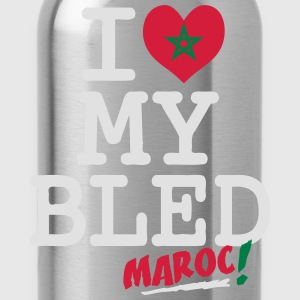 I love MY BLED Maroc Pullover & Hoodies - Trinkflasche