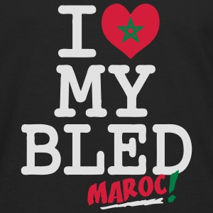 I love MY BLED Maroc Sweat-shirts - T-shirt manches longues Premium Homme
