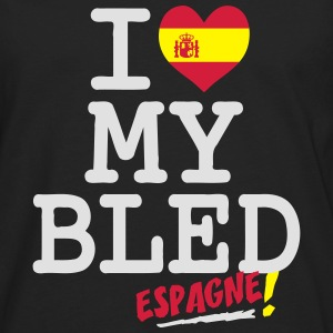 I love MY BLED Espagne Tee shirts - T-shirt manches longues Premium Homme