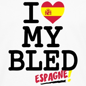 I love MY BLED Espagne Sweats - T-shirt manches longues Premium Homme