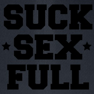 suck sex full T-skjorter - Flexfit baseballcap