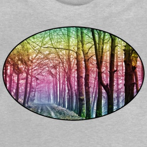 Nature - Rainbow - Forest - Park - Rural - Trees Shirts - Baby T-Shirt