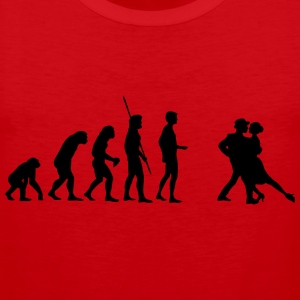 Dancing Evolution  T-Shirts - Men's Premium Tank Top