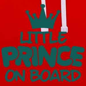 little prince on board Tee shirts - Sweat-shirt contraste