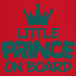 little prince on board Tee shirts - T-shirt manches longues Bébé