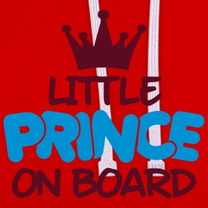 little prince on board T-Shirts - Contrast Colour Hoodie