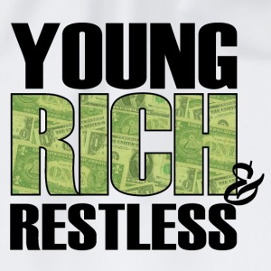 young, rich and restless T-Shirts - Drawstring Bag