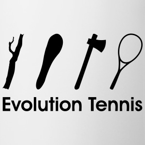 Evolution Tennis Tennisschläger T-Shirts - Tasse
