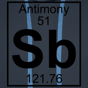 Element 051 - Sb (antimony) - Full T-shirts - Herre Premium hættetrøje