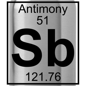 Element 051 - Sb (antimony) - Full Koszulki - Bidon