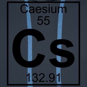 Element 055 - Cs (caesium) - Full T-shirts - Premiumluvtröja herr