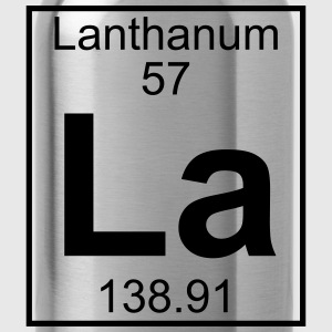 Element 057 - La (lanthanum) - Full Koszulki - Bidon