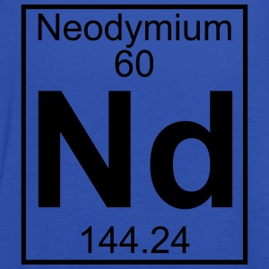Element 060 - Nd (neodymium) - Full T-shirts - Dame tanktop fra Bella