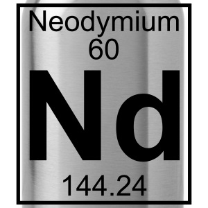 Element 060 - Nd (neodymium) - Full Koszulki - Bidon