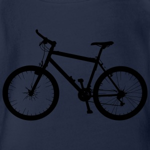 Cycle Bike Rad Fahrrad Montainbike T-Shirts - Baby Bio-Kurzarm-Body