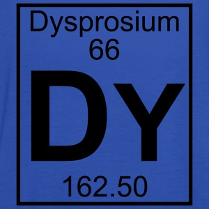 Element 066 - Dy (dysprosium) - Full T-shirts - Dame tanktop fra Bella