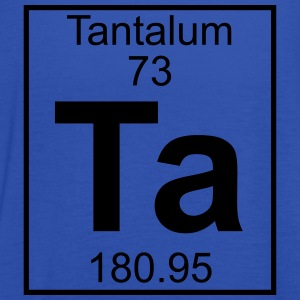 Element 073 - Ta (tantalum) - Full T-shirts - Dame tanktop fra Bella