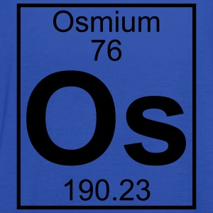 Element 076 - Os (osmium) - Full T-shirts - Tanktopp dam från Bella