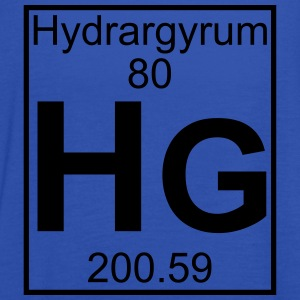 Element 080 - Hg (hydrargyrum) - Full T-shirts - Dame tanktop fra Bella