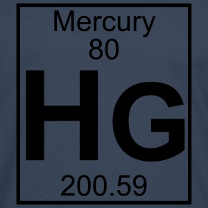 Element 080 - Hg (mercury) - Full T-skjorter - Premium langermet T-skjorte for menn