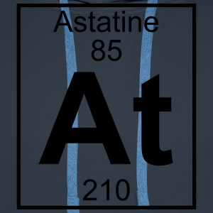 Astatine (At) (element 85) - Men's Premium Hoodie
