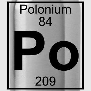 Element 084 - Po (polonium) - Full Koszulki - Bidon