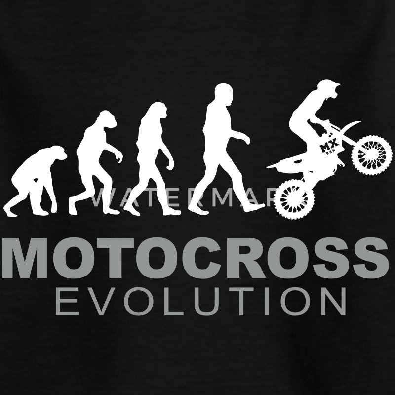 Motocross Evolution Camisetas - Camiseta niño