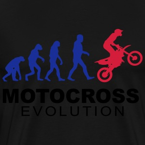Motocross Evolution slick Tröjor - Premium-T-shirt herr