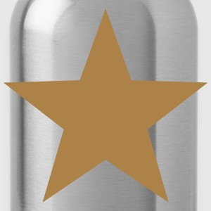 Gold Star, Winner, Best, Hero, Award, Insignia T-Shirts - Water Bottle