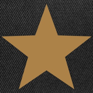 Gold Star, Winner, Best, Hero, Award, Insignia T-Shirts - Snapback Cap
