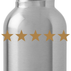 5 Stars, winner, hero, best, five, golden, award T-Shirts - Water Bottle