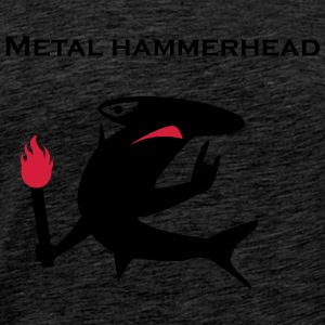 Metal hammerhead - Men's Premium T-Shirt