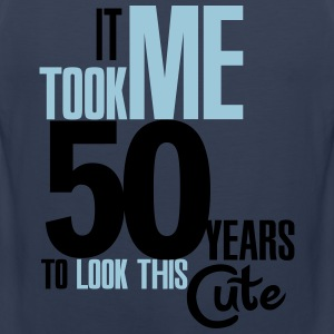 It took me 50 years to look this cute T-Shirts - Men's Premium Tank Top