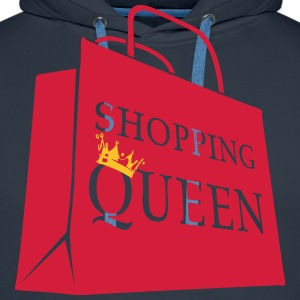 Shopping Queen Tee shirts - Sweat-shirt à capuche Premium pour hommes
