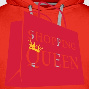 Shopping bag Queen  T-Shirts - Men's Premium Hoodie