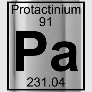 Element 091 - Pa (protactinium) - Full T-shirts - Drinkfles