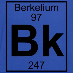 Element 097 - Bk (berkelium) - Full T-shirts - Tanktopp dam från Bella