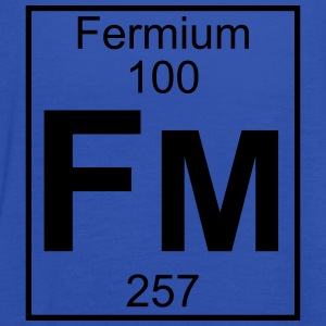 Element 100 - Fm (fermium) - Full T-shirts - Dame tanktop fra Bella