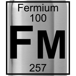 Element 100 - Fm (fermium) - Full Koszulki - Bidon
