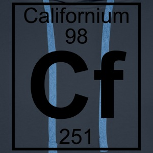 Element 098 - Cf (californium) - Full T-shirts - Herre Premium hættetrøje