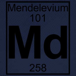 Element 101 - Md (mendelevium) - Full T-skjorter - Baseballcap