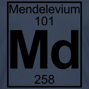 Element 101 - Md (mendelevium) - Full T-skjorter - Premium langermet T-skjorte for menn