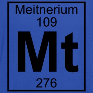 Element 109 - Mt (meitnerium) - Full T-shirts - Dame tanktop fra Bella